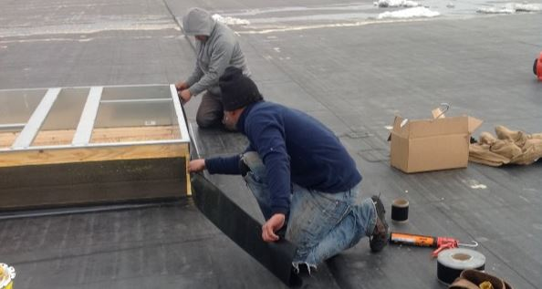 commercial roofing repair maintenance